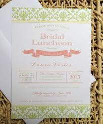 bridal luncheon invitation chalkboard floral bridal luncheon invitations paper style