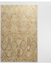 Wool Area Rugs Deals On Light Brown Tufted Wool Maris Area Rug Blue 6 X 9 By