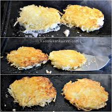 cuisiner avec la plancha plancha rosti recette röstis aux pommes de terre à la plancha