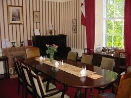small dining room and kitchen classical carving wooden table area