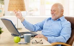 Man On Computer Meme - create meme rrr rrr old man laptop pictures meme
