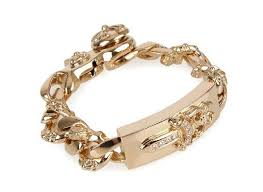 gold hearts bracelet images Skytrek rakuten global market chrome hearts fancy link id jpg