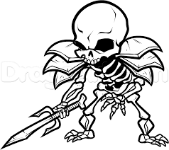 magnificent skeleton coloring pages dokardokarz net