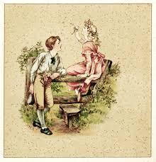vintage thanksgiving postcards victorian storybook illustration m ellen edwards art free
