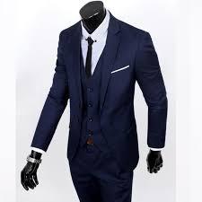 mariage homme costume homme mariage 3 pieces marque blazer hommes slim fit