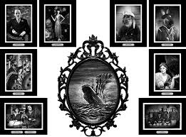 halloween portraits for my sunken ship party manning makes stuff