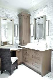 corner bathroom vanity ideas makeup vanity with sink vanities small corner makeup vanity best