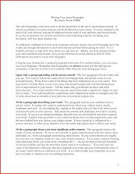 Resume Paragraph Format Writing A Biography Essay Weight Loss Consultant