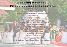 affordable wedding catering arleneluistro page 2 alingarlene