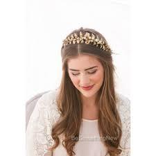 gold headband gold leaf headbands shop for gold leaf headbands on polyvore