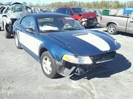 2000 blue mustang 1fafp4048yf170475 2000 blue ford mustang on sale in il