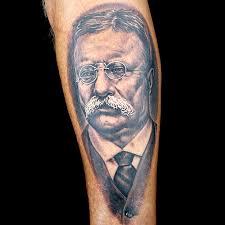 abraham lincoln tattoo by megan jean morris political portrait
