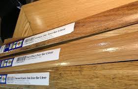 Laminate Flooring Door Threshold Dural Oak Effect Door Bar 0 9mtr Mfaf 4001 Comes In Matt Titanium