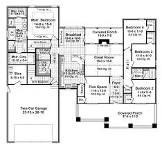 Floor Plan 4 Bedroom Bungalow Bungalow Style House Plans Plan 2 319