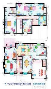 popular house floor plans floor plans of popular tv show apartments and houses