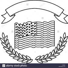Checkered Flag Ribbon United States Flag Black And White Stock Photos U0026 Images Alamy