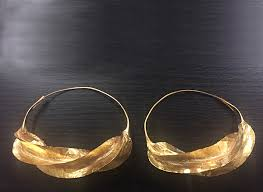 gold dipped gold dipped fulani earrings large version fulaba exclusive