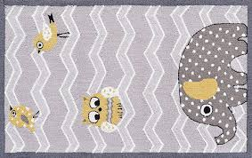children area rugs amazon com the rug market elephant and birds children u0027s area rug