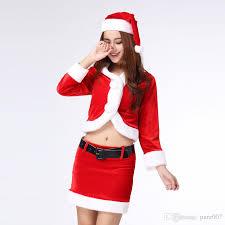 christmas suit christmas santa costume christmas