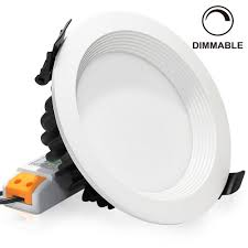 10 inch round recessed light trim 15w 5 inch dimmable retrofit led recessed light basement