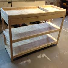 How To Make A Baby Changing Table Building A Changing Table Frugal Living