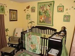 Jungle Themed Crib Bedding Jungle Babies Nursery I Always Loved Animals And Wanted To
