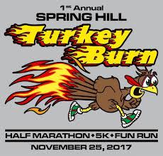 hill turkey burn half marathon 5k run out