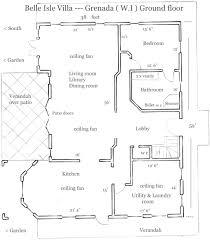 Plan De Maison Antillaise St Davids Grenada Grenadine Villas