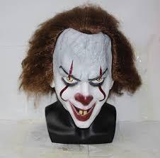 stephen king u0027s it mask pennywise clown halloween costume 2017 us