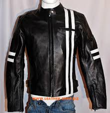 motorcycle style leather jacket leather jacket custom made racer style mlj233 www leather shop biz