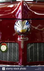 crosley car crosley car 1948 red front view detail of the front of the