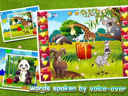 kids u0027 zoo animals puzzles free android apps on google play