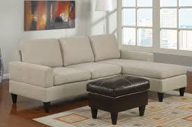 Black Leather Storage Ottoman Broken White Velvet Sleeper Sofa With Chaise And Black Wooden Legs