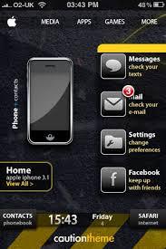 theme apple iphone