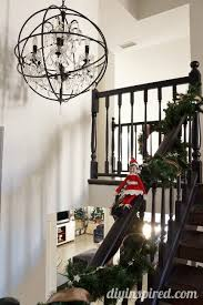 Sliding Down Banister Last Minute Elf On The Shelf Ideas Diy Inspired