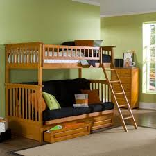 Futon Bunk Bed Wood Bunk Bed With Sofa Bed 9 Best Bunk Beds Images On Pinterest