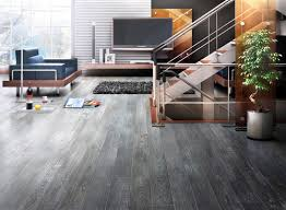 what finish is used on the floor is it grey due to a particular stain