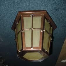 arts u0026 crafts flush mounted ceiling porch light fixture copper