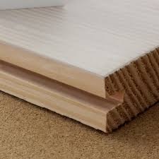 wide board douglas fir flooring lye and white soap finish wood