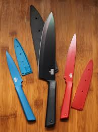 Kitchen Knives Set Reviews Cookistry U0027s Kitchen Gadget And Food Reviews Kuhn Rikon Coated