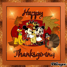 mickey minnie happy thanksgiving picture 131127627 blingee