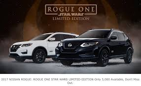 nissan rogue star wars 2017 nissan rogue rogue one star wars limited edition the first