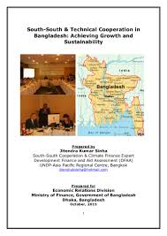 south south cooperation in bangladesh for achieving growth u0026 sustaina u2026