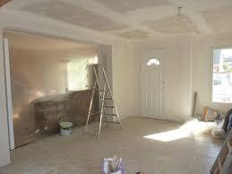 ouverture entre cuisine et salle à manger le salon presque termin eacute ker bluebreizh