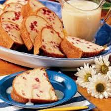 cranberry orange pound cake recipe taste of home
