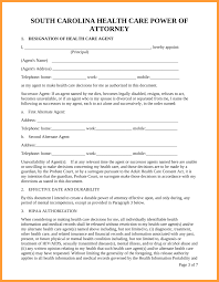 Irs Form 2848 Power Of Attorney by 11 Power Of Attorney Form Sc Week Notice Letter