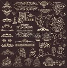 vector set of floral borders ornaments and decorative elements for