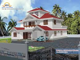 4 beautiful home elevation designs in 3d kerala home design and
