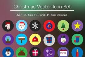 christmas vector pack illustrations on creative market