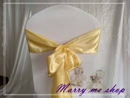yellow chair sashes cheap white satin chair sashes find white satin chair sashes